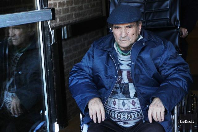 Domenico Torrente, 86 ans, a reconnu les faits... (Étienne Ranger, LeDroit)