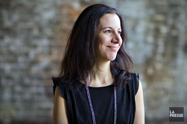 Rima Elkouri a sûrement une des plus belles plumes du journalisme écrit. Celle... (Photo: Olivier Jean, La Presse)