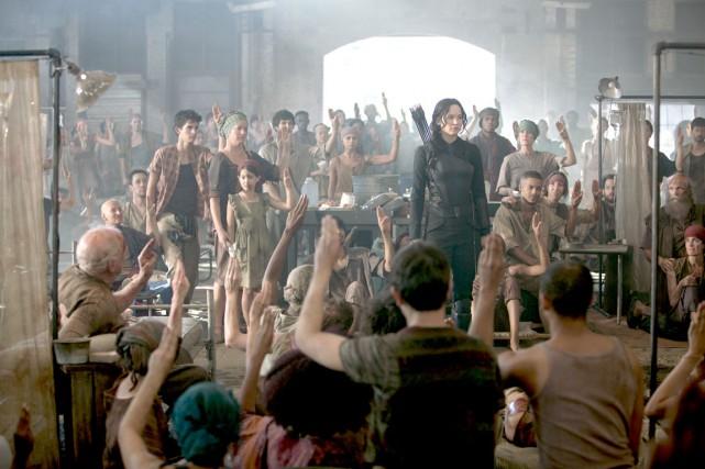 Réticente à incarner le visage de la révolution,... (Photo fournie par les Films Séville)