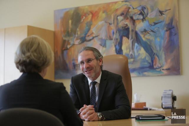 Le PDG de 5N Plus, Jacques L'Ecuyer.... (Photo Martin Chamberland, La Presse)