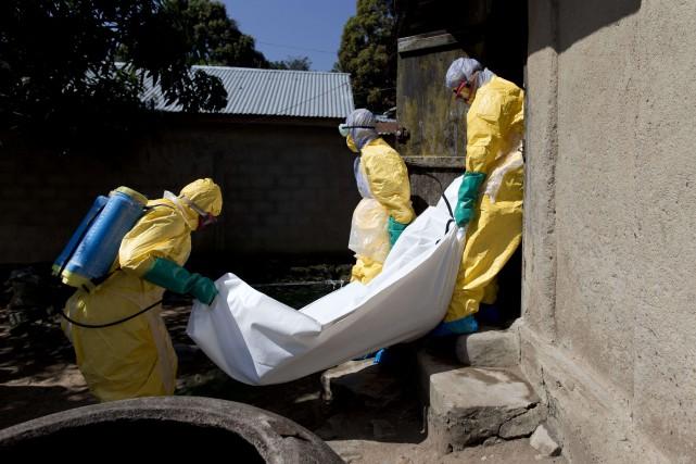 L'immense majorité des cas d'Ebola ont été recensés... (Photo KENZO TRIBOUILLARD, AFP)