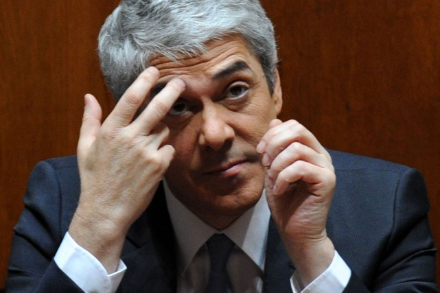 L'ancien premier ministre socialiste José Socrates... (Photo FRANCISCO LEONG, Archives AFP)