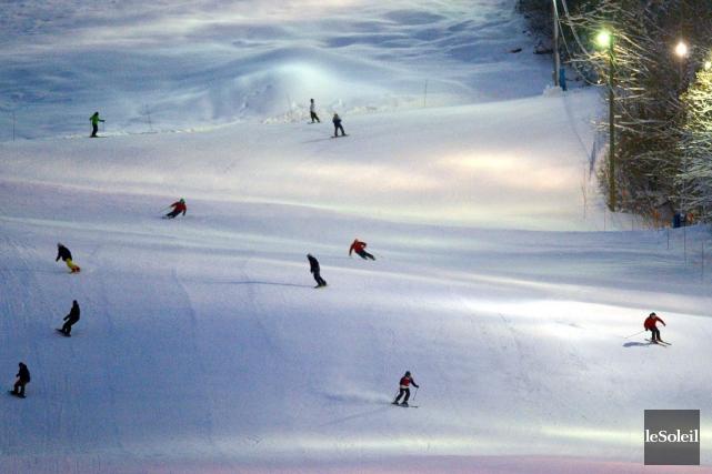 La station de ski de Stoneham est ouverte... (Photothèque Le Soleil, Yan Doublet)