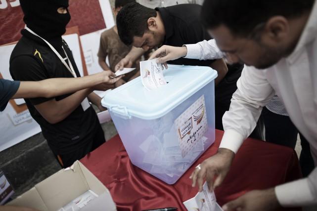 L'enjeu principal du scrutin sera d'ailleurs le taux... (Photo MOHAMMED AL-SHAIKH, AFP)