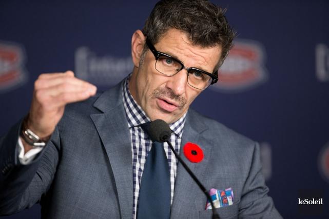 Marc Bergevin, le directeur général du Canadien, a... (Photothèque Le Soleil)