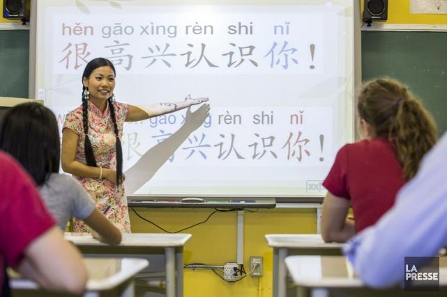 Depuis trois ans, une dizaine d'écoles de la... (Photo Olivier PontBriand, archives La Presse)