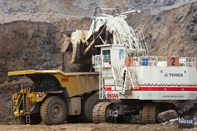 Même si le secteur minier s'embourbe depuis quelques... (PHOTO FRANÇOIS ROY, ARCHIVES LA PRESSE)