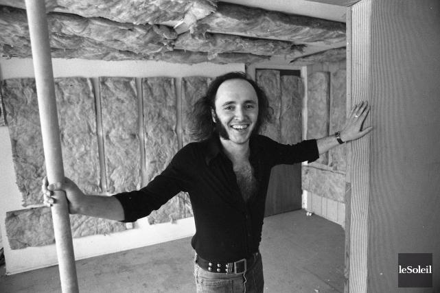 Lucien Francoeur en 1975. Quarante ans après la... (Archives Le Soleil)
