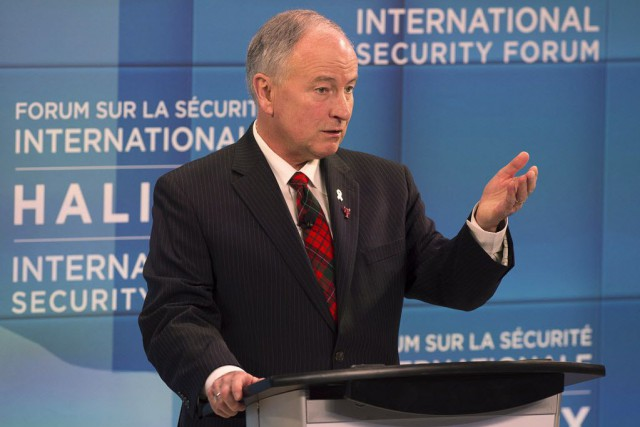 Le ministre de la Défense nationale, Rob Nicholson.... (Photo Andrew Vaughan, ARCHIVES La Presse canadienne)