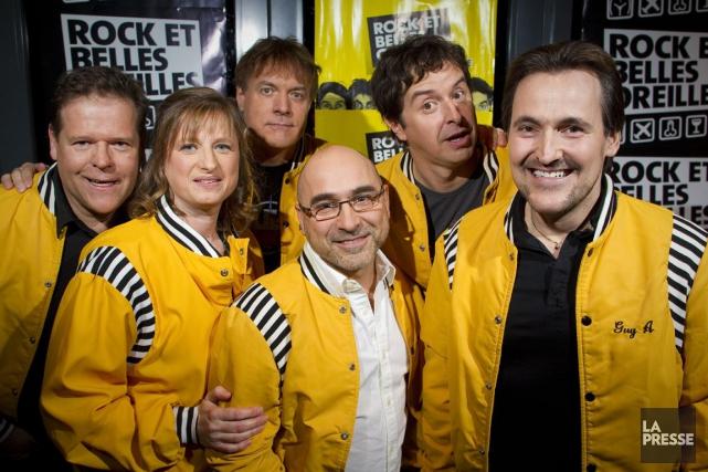 Les membres du groupe Rock et belles oreilles... (Archives, La Presse)