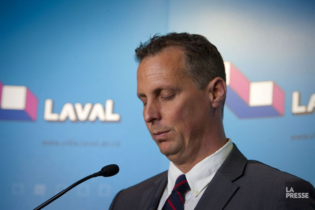 L'ancien maire de Laval, Alexandre Duplessis.... (André Pichette, Archives La Presse)