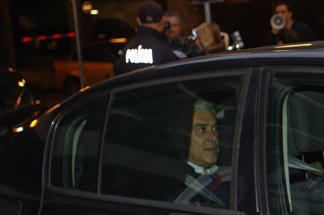 José Socrates, 57 ans, qui a dirigé le... (Photo Hugo Correia, Reuters)