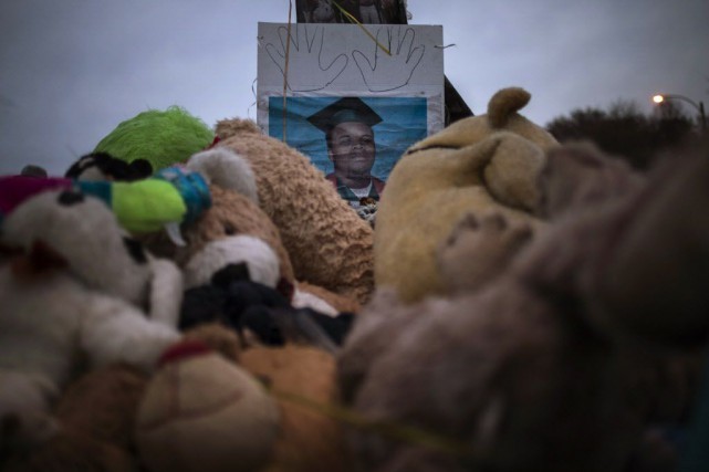 La mort de Michael Brown, âgé de 18... (Photo Adrees Latif, Reuters)
