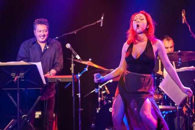 L'orchestre de Belle et Bum regorge d'énergie. La... ((Photo Frédéric Cantin))