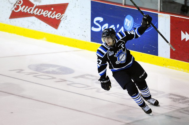 Laurent Dauphin a préparé les deux buts des... ((Photo Mariane L. St-Gelais))