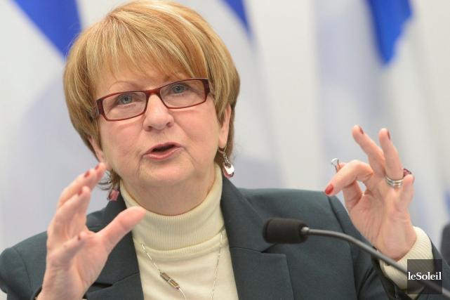 Le rapport de l'ex-ministre Lucienne Robillard suggère huit... (Le Soleil, Jean-Marie Villeneuve)
