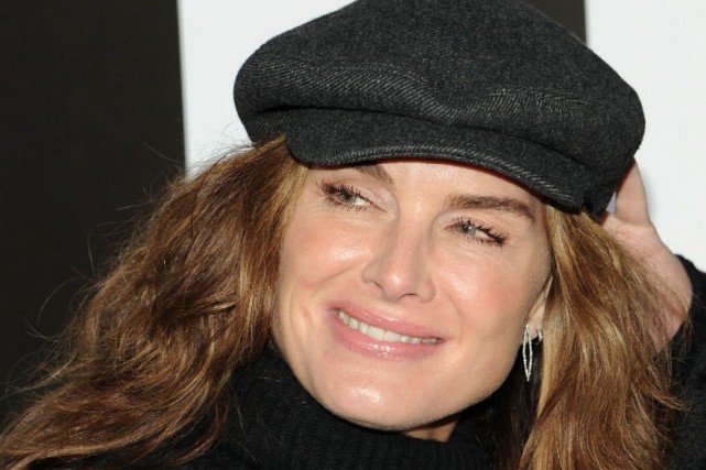 Brooke Shields... (Photo AP, Andrew Toth)