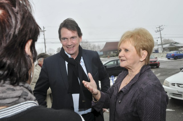 L'ex-députée Noëlla Champagne a reçu Pierre Karl Péladeau... (Émilie O'Connor)
