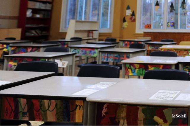 Pas moins de 264 élèves répartis dans 17... (Photothèque Le Soleil)