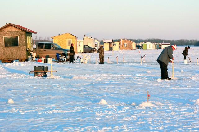 Les endroits où vous pourrez pratiquer la pêche... (COLLABORATION SPÉCIALE ANDRÉ-A. BELLEMARE)