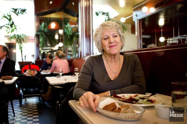 Denise Bombardier s'inquiète de la «régression» de Montréal,... (PHOTO MARCO CAMPANOZZI, LA PRESSE)