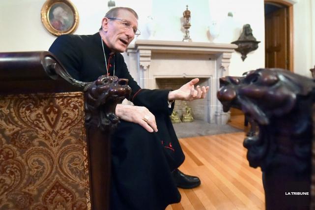 Mgr Luigi Bonazzi... (Imacom, Maxime Picard)