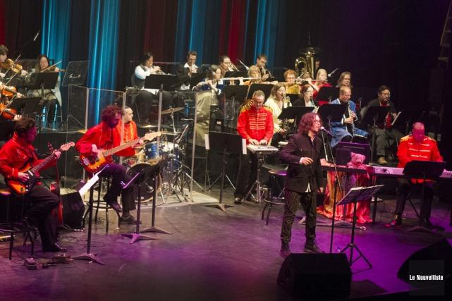 Le Grand orchestre de la Mauricie.... (Archives, Le Nouvelliste)