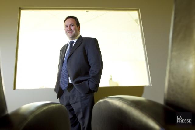 Patrick Godin, vice-président et chef des opérations pour... (PHOTO ALAIN ROBERGE, LA PRESSE)