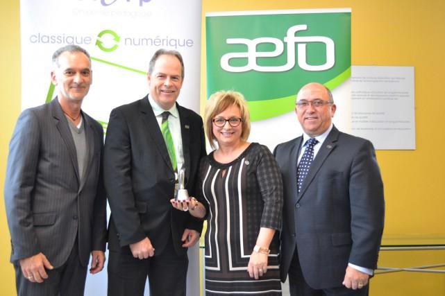 L'Association des enseignantes et des enseignantsfranco-ontariens (AEFO) et la... (Courtoisie)