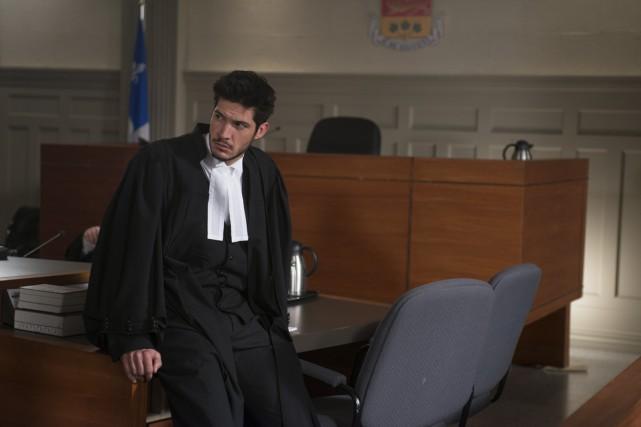 Éric Bruneau dans l'épisode final de la série... (PHOTO VÉRO B., FOURNIE PAR TVA)