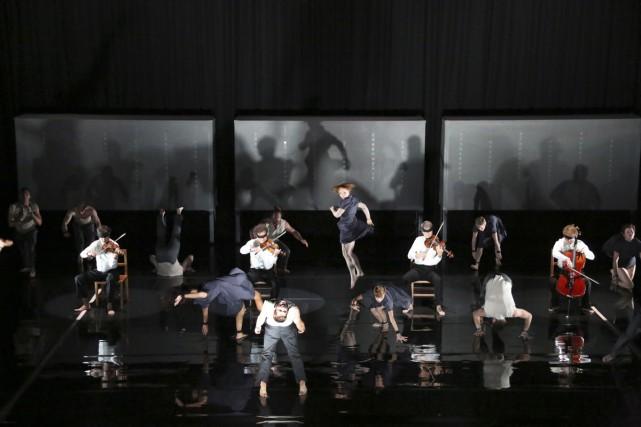 Opus, de la troupe de cirque australienne CIRCA,... (Photo: fournie par la TOHU)