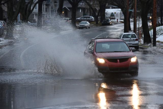 Environnement Canada prévoit entre 20 mm et 30...