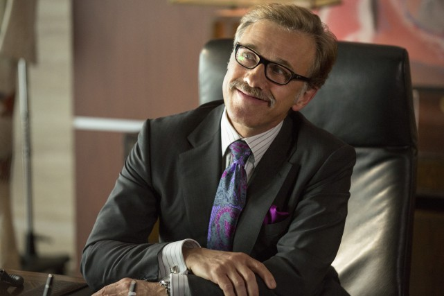Christoph Waltz a accepté un rôle secondaire dans Horrible Bosses 2 parce que... (Photo: fournie par Warner Bros.)