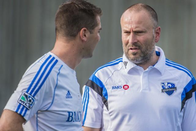 Philippe Eullaffroy dirigera le FC Montréal, qui entamera... (PHOTO FOURNIE PAR L'IMPACT DE MONTRÉAL)