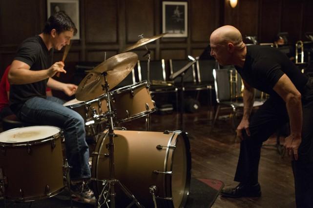 Un jeune batteur de jazz (Miles Teller) subit... (Photo: fournie par Métropole Films)