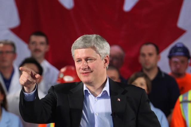 Le premier ministre Harper a indiqué que son... (Photo Dave Chidley, PC)