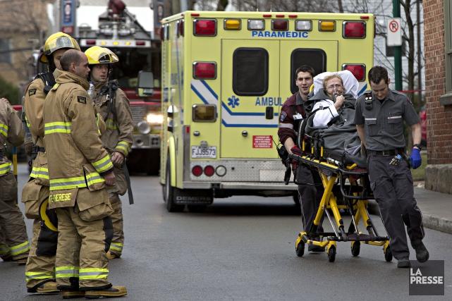 Près de 350 personnes ont été affectées par... (Photo Patrick Sanfaçon, La Presse)