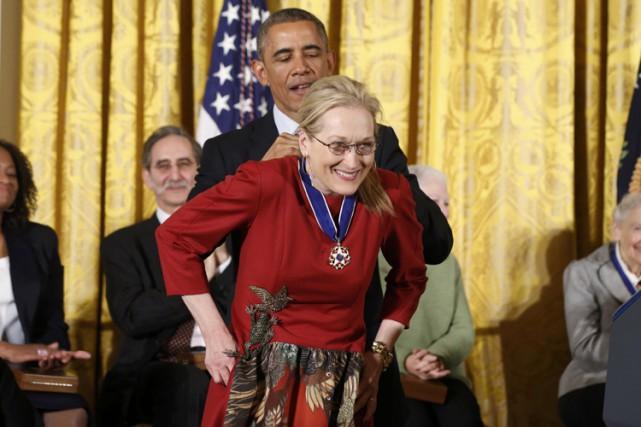 «Meryl [Streep] est véritablement une grande dame de... (Photo: Reuters)