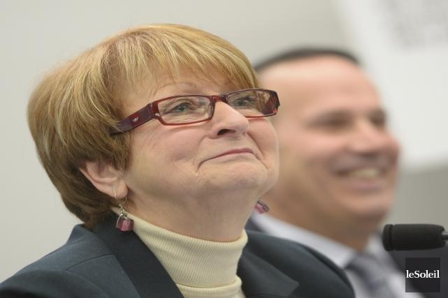 L'ancienne ministre Lucienne Robillard préside la commission ayant... (Photo Jean-Marie Villeneuve, Le Soleil)