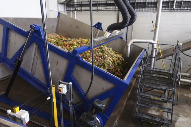 Les matières organiques seront transformées dans des biodigesteurs... (Photos alain Dion)