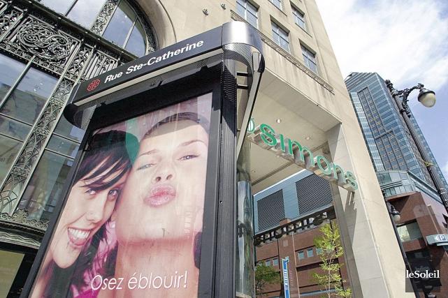 La façade du magasin Simons de la rue... (Photothèque Le Soleil)