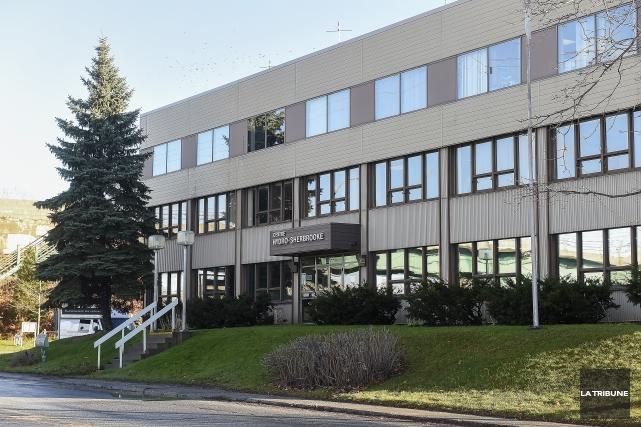 Les employés d'Hydro-Sherbrooke participeront au « grand dérangement » contre... (Imacom, Frédéric Côté)