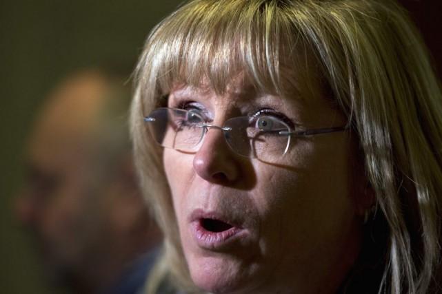 Francine Charbonneau, ministre de la Famille,se montre convaincue... (PHOTO JACQUES BOISSINOT, ARCHIVES LA PRESSE CANADIENNE)