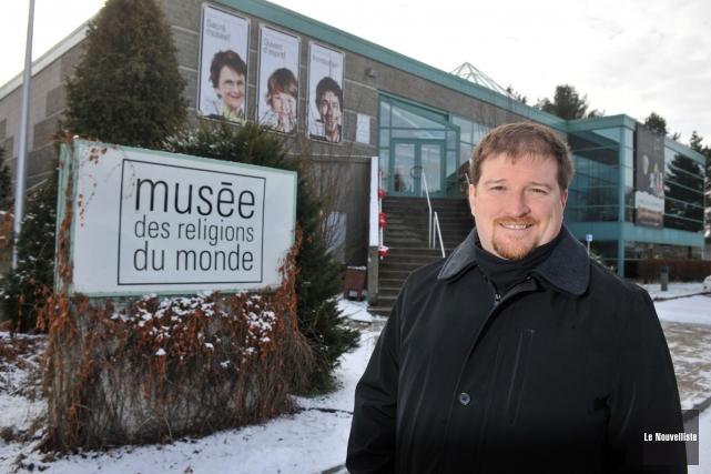 Le directeur du Musée des religions du monde... (Photo: Stéphane Lessard Le Nouvelliste)