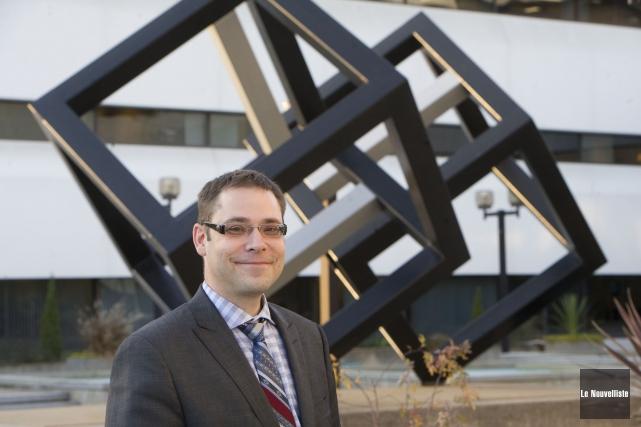 Le professeur de l'UQTR Éric Chartier.... (Photo: Stéphane Lessard Le Nouvelliste)