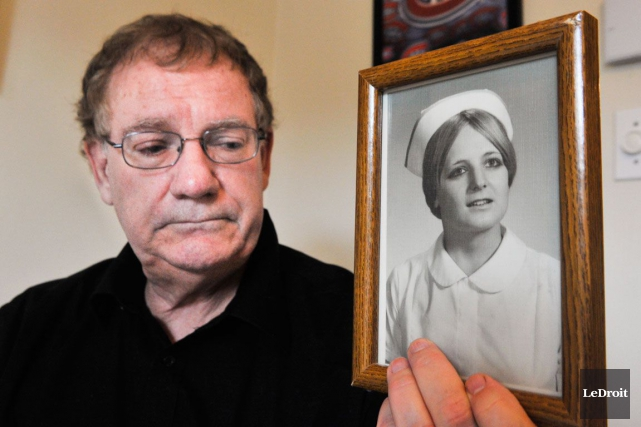 André Vermette est inconsolable depuis la mort de... (Martin Roy, LeDroit)