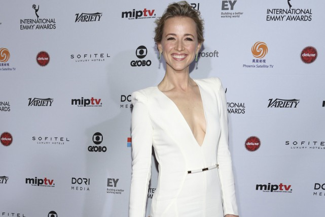 L'actrice Karine Vanasse était en nomination aux International... (Photo: Reuters)