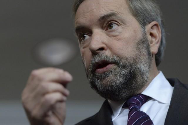 À 10 mois des élections, le chef néo-démocrate... (Sean Kilpatrick, archives La Presse Canadienne)
