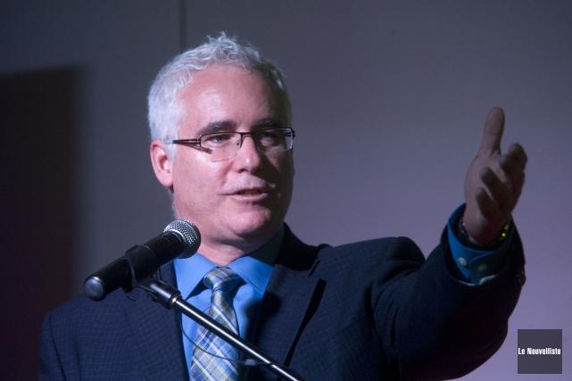Le directeur général de FAB 3R, Yves Lacroix,... (Photo: Stéphane Lessard Le Nouvelliste)