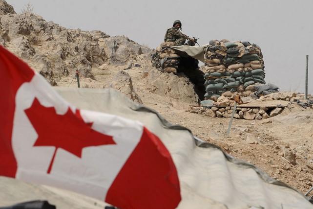 Environ 16 000 ex-militaires sont admissibles à ces... (PHOTO ARCHIVES AGENCE FRANCE-PRESSE)